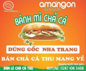Nhượng quyền thương hiệu Bánh mì chả cá Amangon