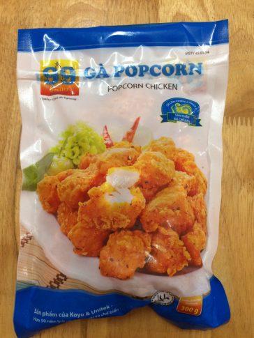 Gà popcorn